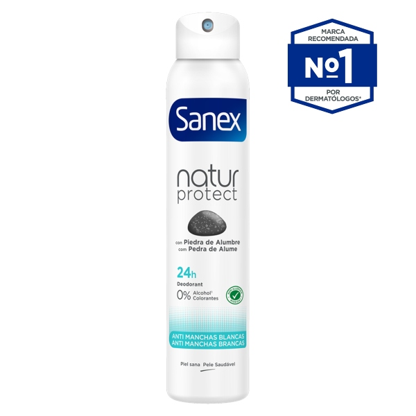 SANEX Natur Protect Antimanchas Blancas en Spray