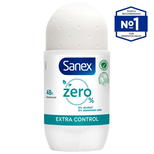 SANEX Zero% Extra Control en Roll-on